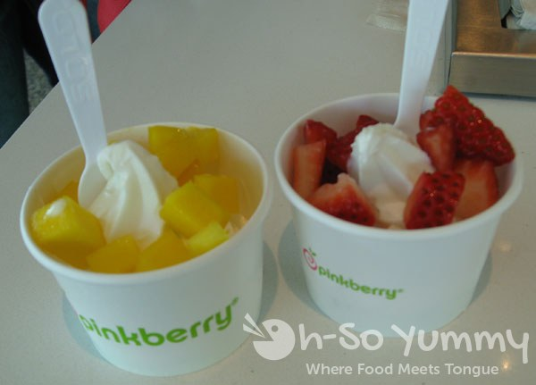 Taste of Hillcrest 2012 - Pinkberry yogurt