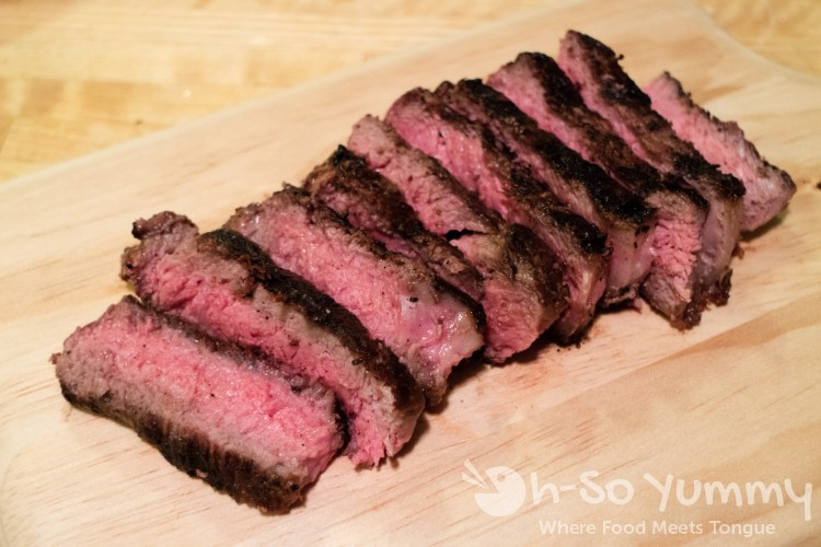 Sliced Ribeye Steak