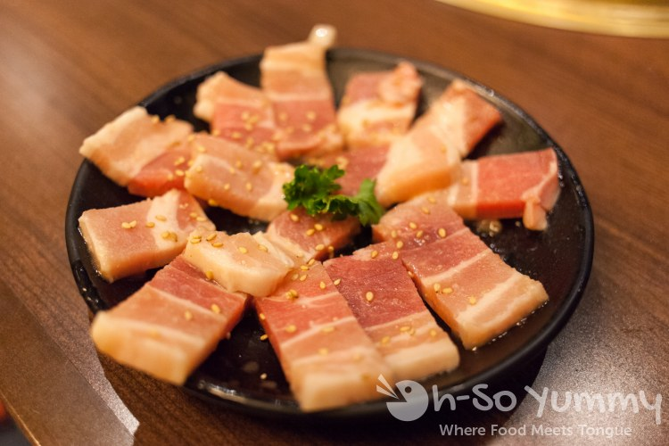 Gyu-Kaku Japanese BBQ - Raw Pork Belly