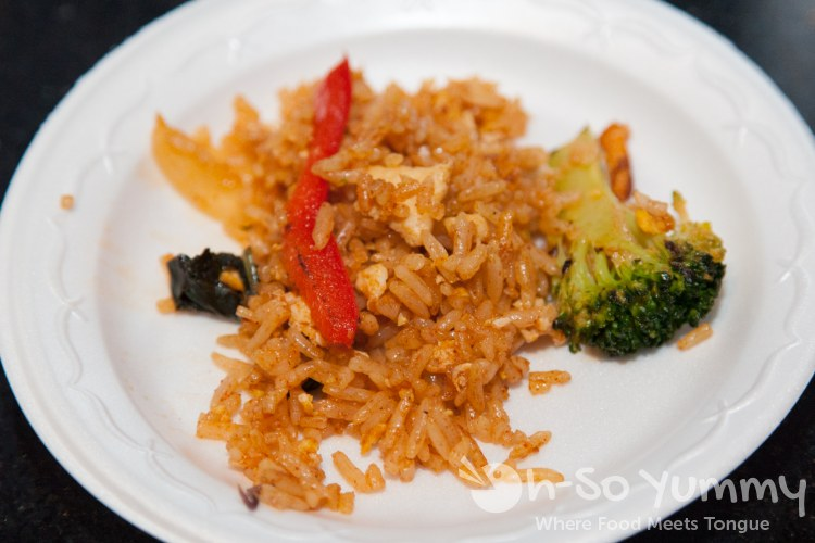 Taste of Downtown 2014 - fried rice at Mint Thai