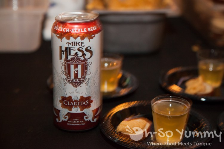 Taste of Downtown 2014 - Mike Hess beer and homemade beer cheese at Knotty Barrel