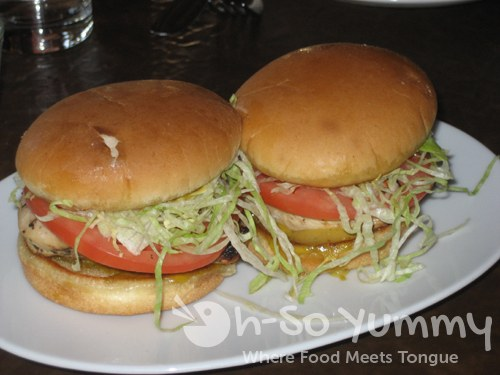 Grilled Chicken Sliders with Fearless Peanut Sauce