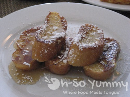 Pain Perdu - French Toast with Lavender Honey