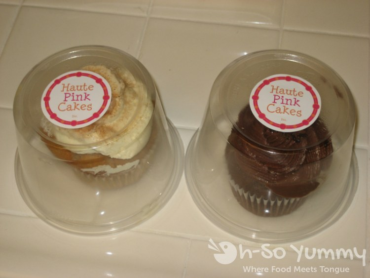 Haute Pink Cakes Containers