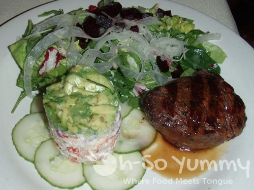 Beef Tenderloin and Lobster Salad