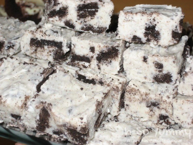 Oreo Cookie Fudge