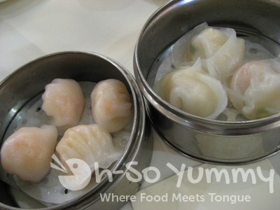 Har Gow / Shrimp Dumplings and Seafood Dumplings