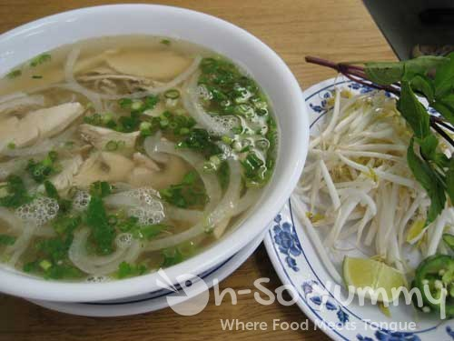Pho Ga / Chicken Noodle Soup