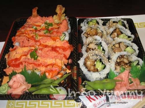 Dynamite Maki and Chicken Teri Maki