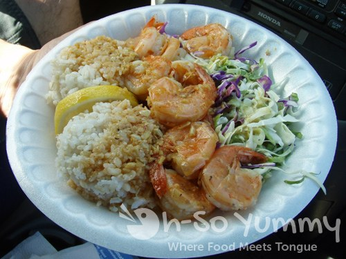 Grasshopper Shrimp Plate