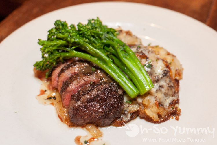 Black Angus Bistro Tender at Bankers Hill Bar + Restaurant