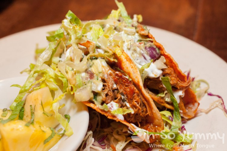 BBQ Braised Pork Tacos at Bankers Hill Bar + Restaurant