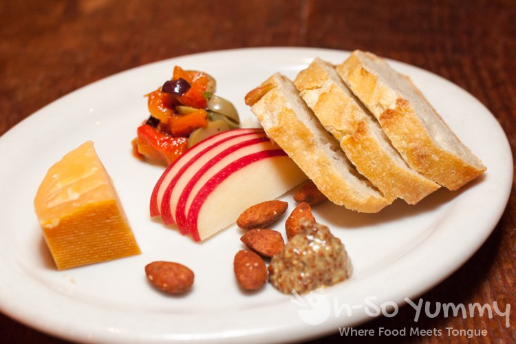 Aged Gouda Artisan Cheese at Bankers Hill Bar + Restaurant