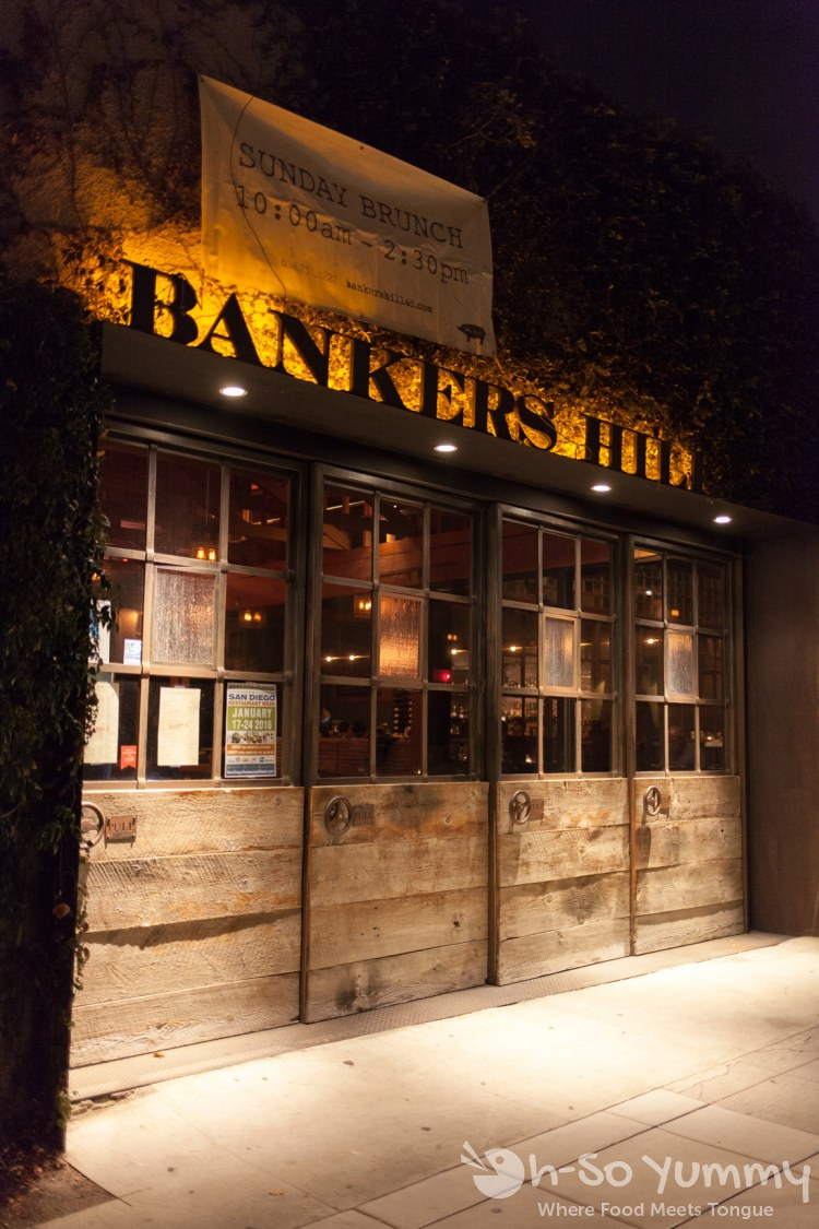 entrance to Bankers Hill Bar + Restaurant