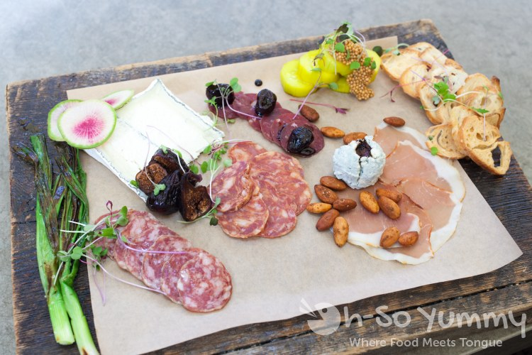 artisan meats and california cheeses at Barrel Republic in Carlsbad