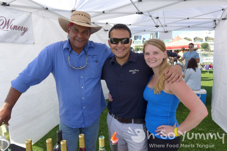 Bacon and Barrels 2014 - Fallbrook Winery reps