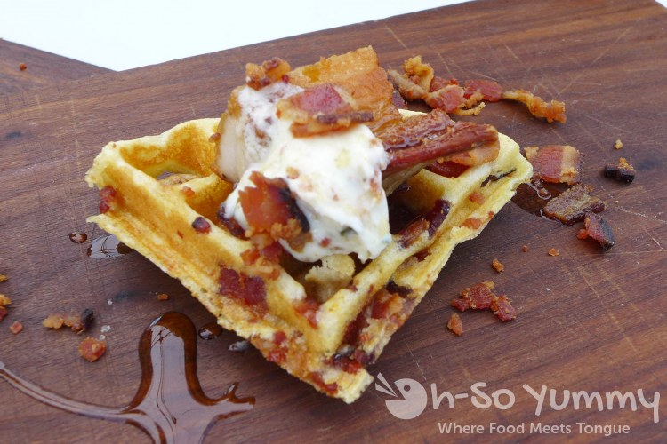 Bacon and Barrels 2014 - West Coast Tavern - Pork Belly and Waffles