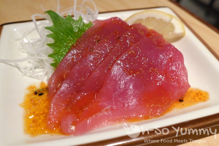 Benihana - Tuna Sashimi with Spicy Sauce