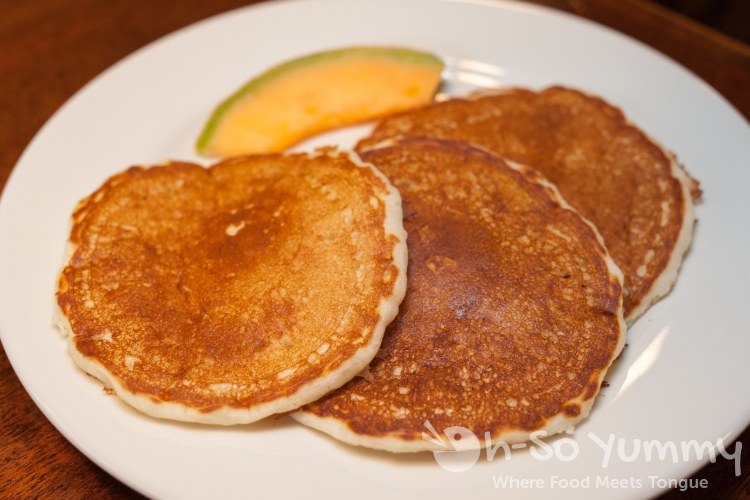 happy hour Buttermilk Hotcakes at Brian's 24 in downtown San Diego