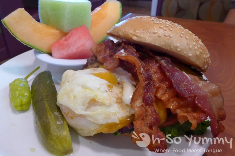 Broken Yolk Cafe - Sunrise Burger for San Diego Burger Week