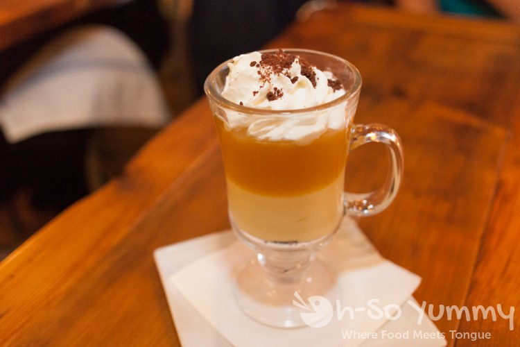 Caramel Budino at Brooklyn Girl Eatery in San Diego