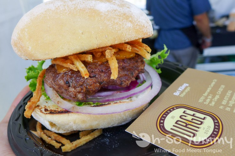 Urge Gastropub burger at San Diego Reader Burgers and Beer