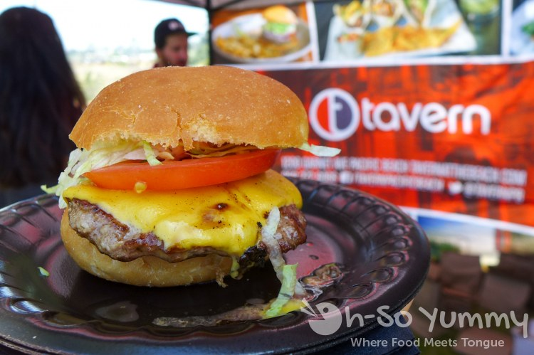 The Tavern burger at San Diego Reader Burgers and Beer