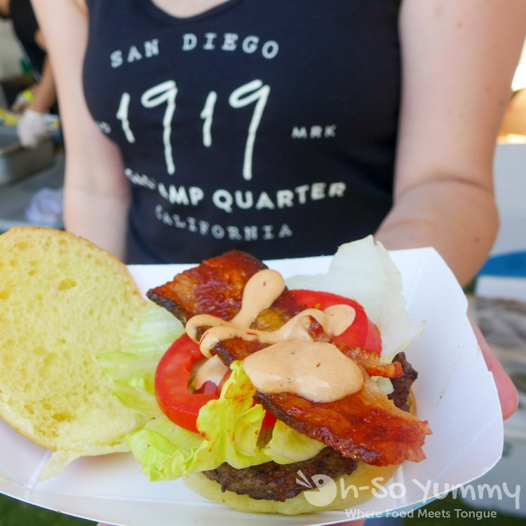 1919 burger at San Diego Reader Burgers and Beer