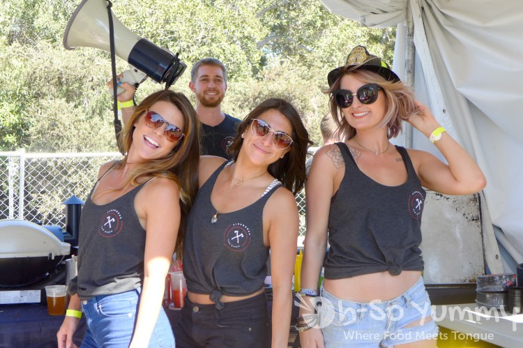 Firehouse girls at San Diego Reader Burgers and Beer