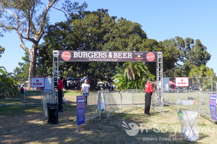 entrance to San Diego Reader Burgers and Beer