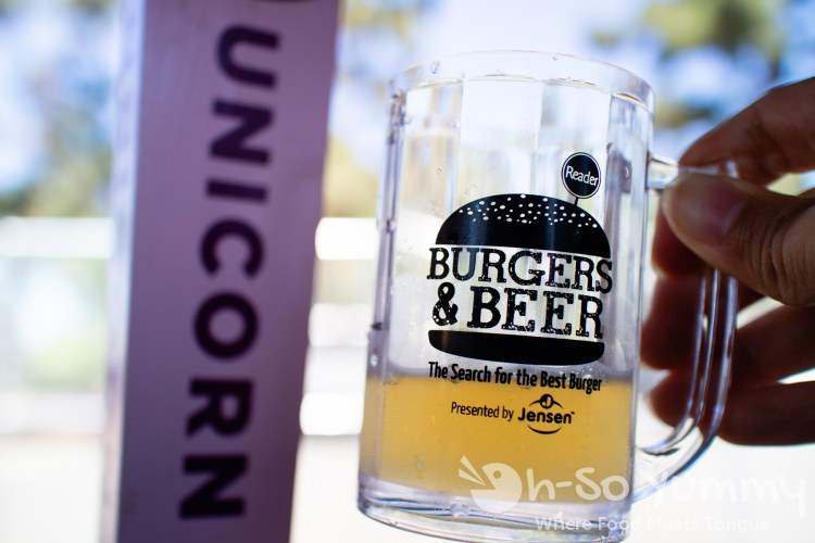 unicorn ale at San Diego Reader Burgers and Beer 2018