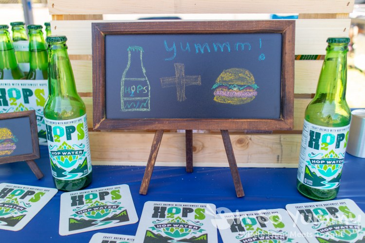 hop water at San Diego Reader Burgers and Beer 2018