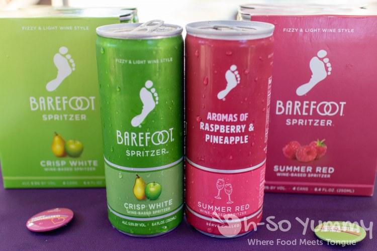 barefoot spritzer at San Diego Reader Burgers and Beer 2018