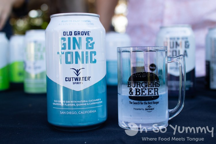 Cutwater Spirits at San Diego Reader Burgers and Beer 2018