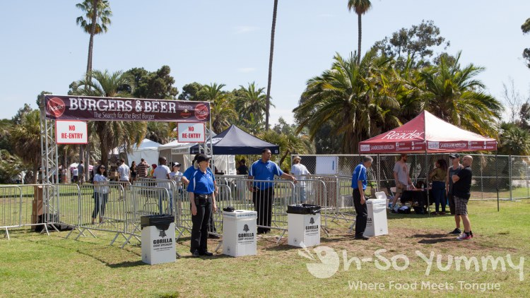 San Diego Reader Burgers and Beer 2017 at Golden Hill Park