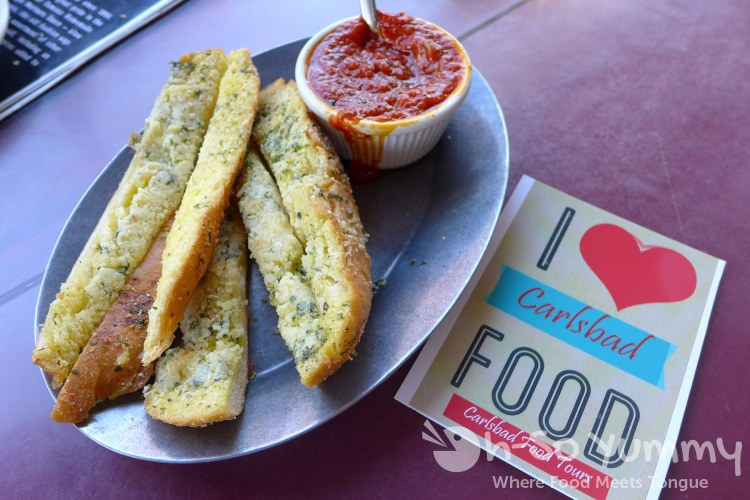 Carlsbad Food Tour starts at Caldo Pomodoro