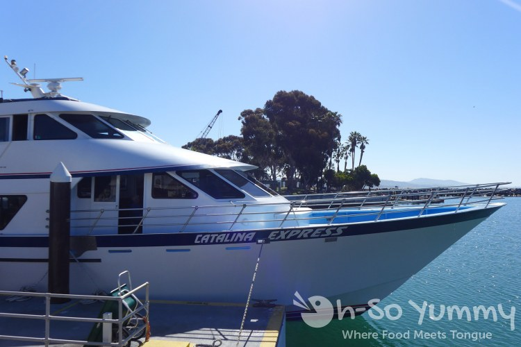 catalina express boat to Avalon on Catalina Island
