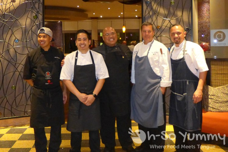 Featured Chefs for Chef Celebration at Arterra