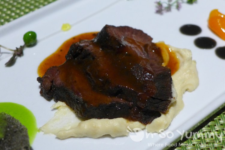 Beef Cheek by Augie Saucedo from Brothers Signature Catering