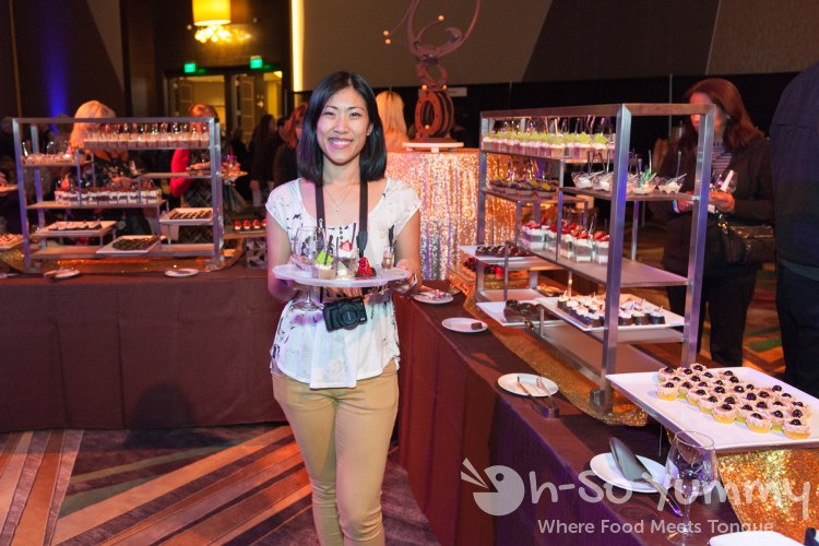 dessert stations at the 10th Annual Chocolate Decadence at Pechanga Resort and Casino