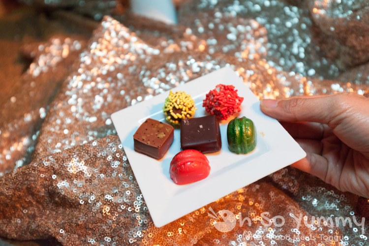 chocolate candies at the 10th Annual Chocolate Decadence at Pechanga Resort and Casino