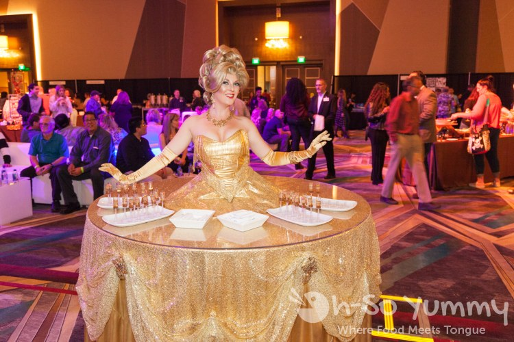 beautiful belles at the 10th Annual Choctolae Decadence at Pechanga Resort and Casino in Temecula