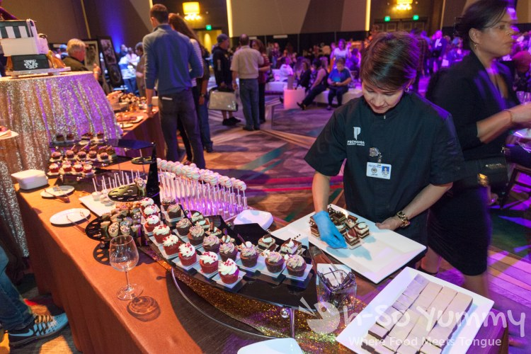 dessert refills at the 10th Annual Choctolae Decadence at Pechanga Resort and Casino in Temecula