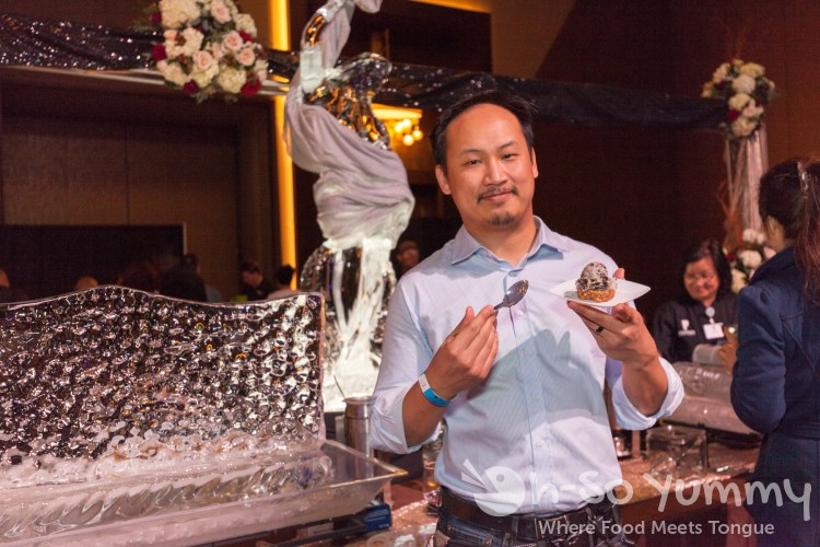 dennis eats at the 10th Annual Chocolate Decadence at Pechanga Resort and Casino