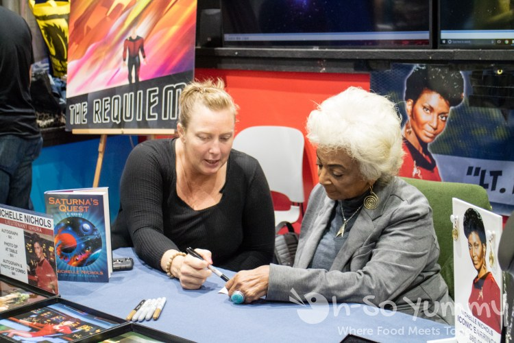 Michelle Nichols from Star Trek at San Diego Comic Con 2017