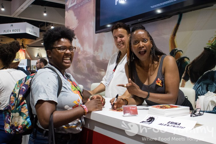 Erika Alexander at San Diego Comic Con 2017
