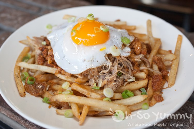 Flock of Duck Fries at Common Theory Public House in San Diego
