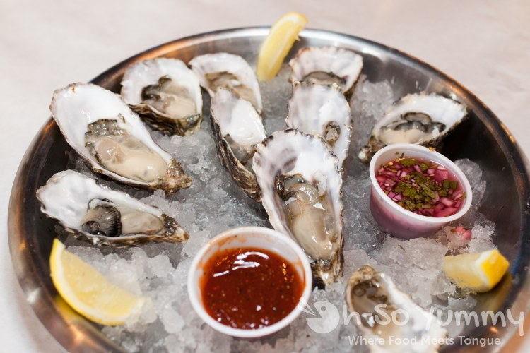 Happy Hour Oysters - Crab Hut