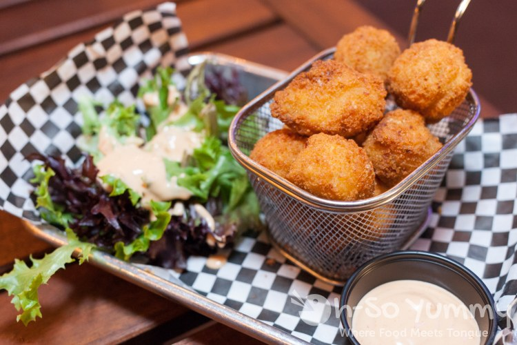 Corn Poppers at Cross Street Chicken and Beer on Convoy Street in San Diego