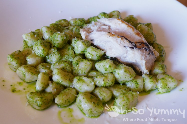 Cucina Basilico - Pesto Gnocchi with chicken